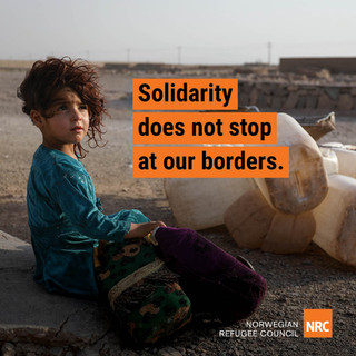 Solidarity does not stop at our borders