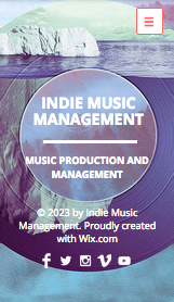 Music Industry website templates – Indie Music Productions