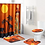 Thumbnail: Exotic Customs Waterproof Bathroom Shower Curtain Toilet Cover Mat Non-Slip Rug