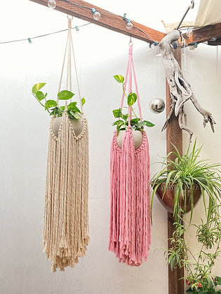 Super Shag Macrame Planter