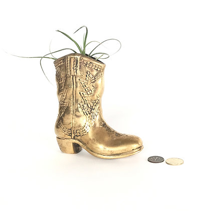 Solid Brass Boot