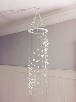 Butteryfly Crystal Mobile