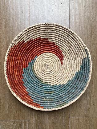 Rust + Turquoise + Cream Basket
