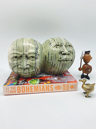 Hand Carved  MoonMen