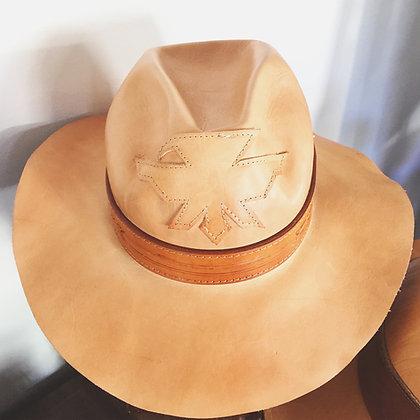 Thunderbird Leather Hat