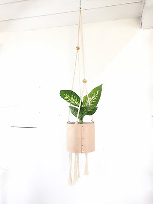 Leather Plant Hanger #1