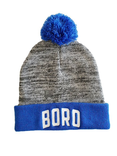 BORO FOOTBALL HEATHER GRAY BEANIE