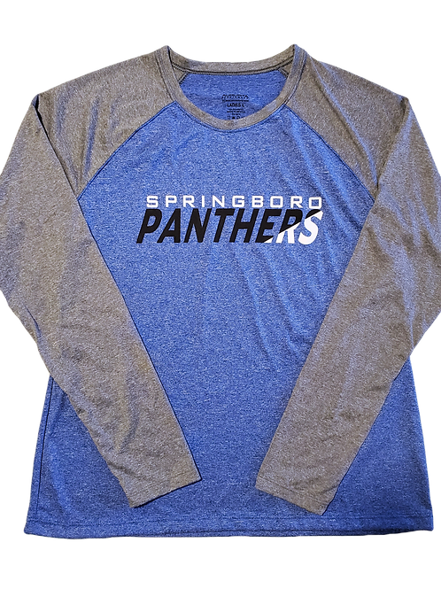 WOMENS DRI-FIT RAGLAN PANTHER