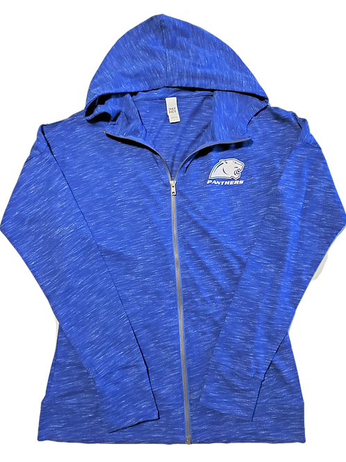 WOMENS FULL ZIP PANTHER