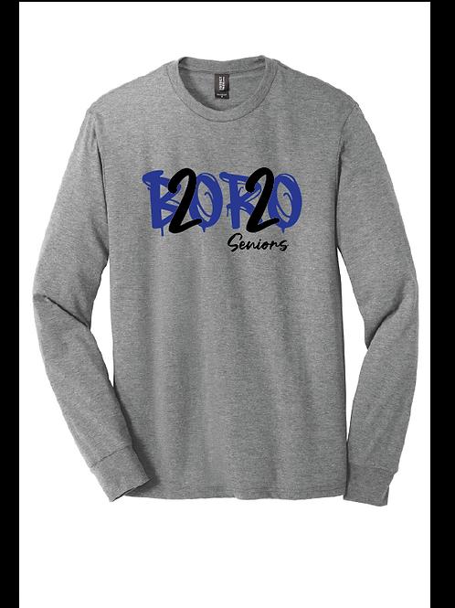 BORO 2020 Seniors Tri-Blend Long Sleeve