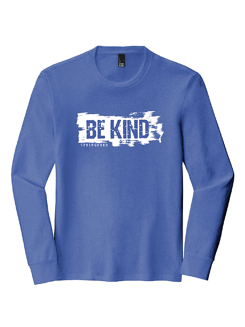 TRI-BLEND LONG SLEEVE UNISEX - BE KIND