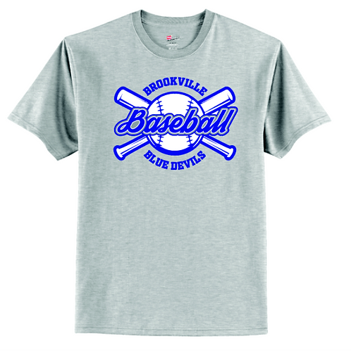 BROOKVILLE BASEBALL 50/50 TEE