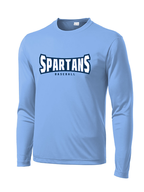 Spartans Dri-fit Long Sleeve Tee