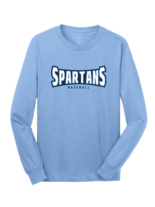 SPARTAN LONG SLEEVE TEE - ADULT