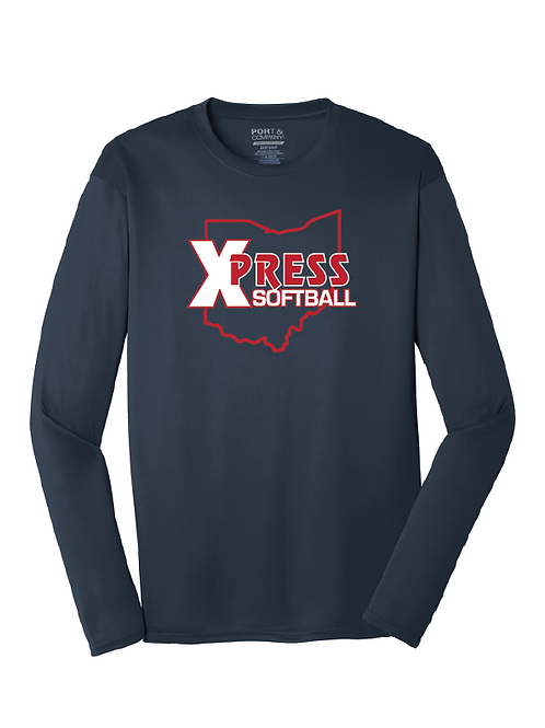 Long Sleeve Dri-Fit Tee