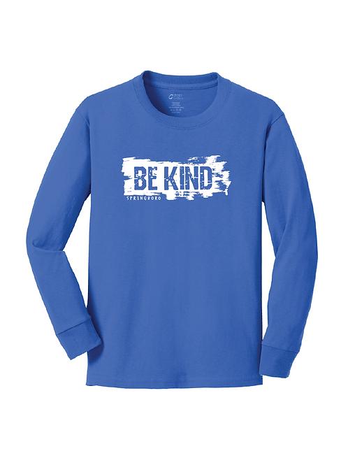YOUTH LONG SLEEVE - BE KIND