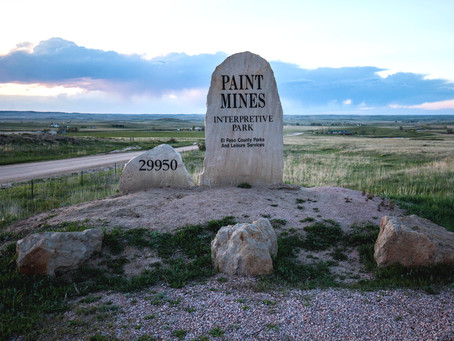 Paint Mines Open Space