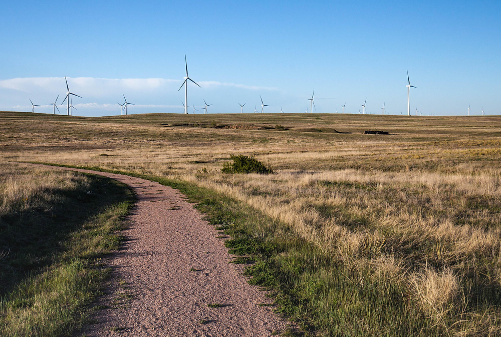 Pain Mines Open Space Windmills