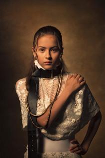 Rembrandtsinspirerade porträtt