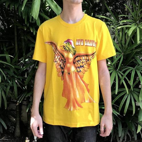 Camisa Ave Sangria Amarela