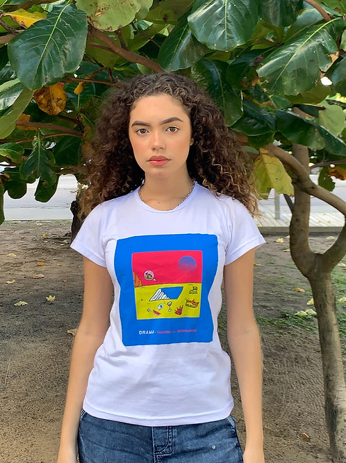 Camisa Feminina Drama