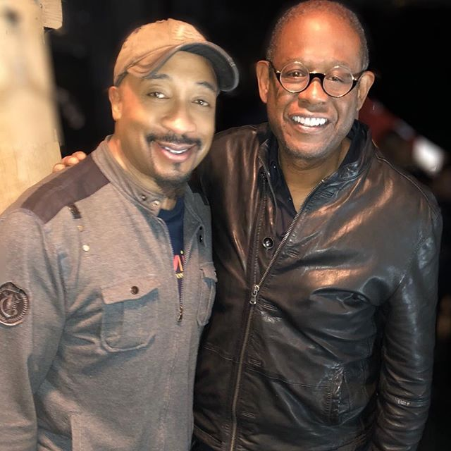 with Forrest Whitaker
