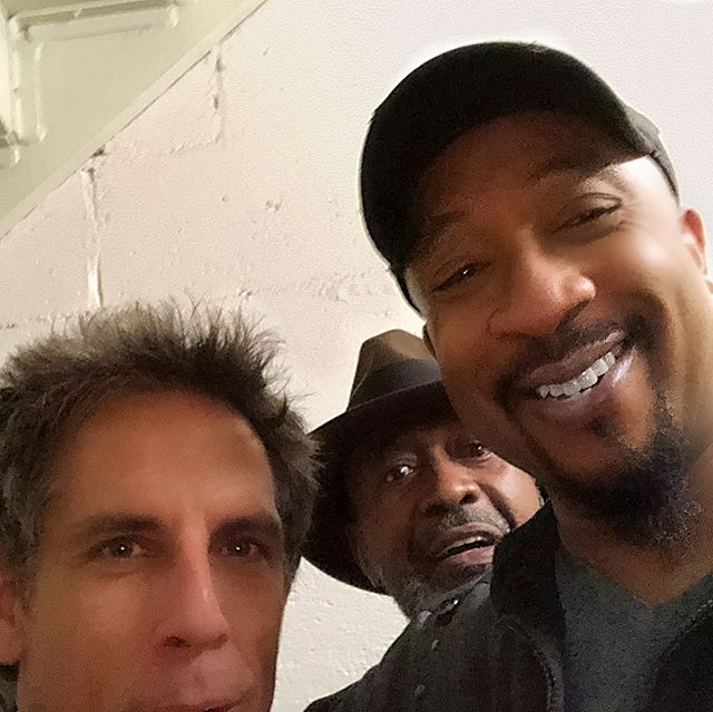 with Ben Stiller and Ben Vereen