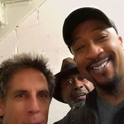 with Ben Stiller and Ben Vereen