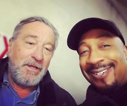 with Robert DeNiro