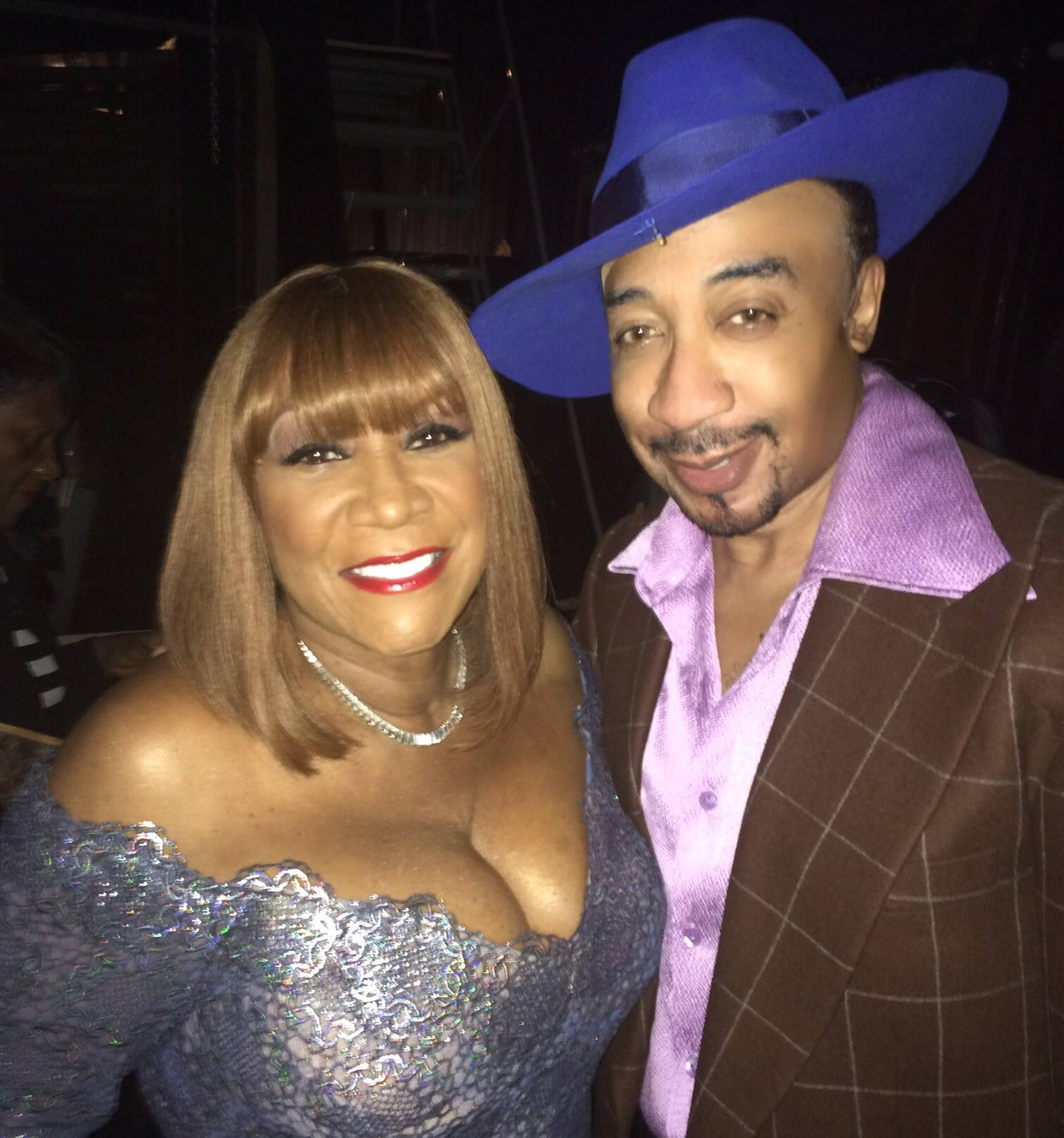 with Patti LaBelle