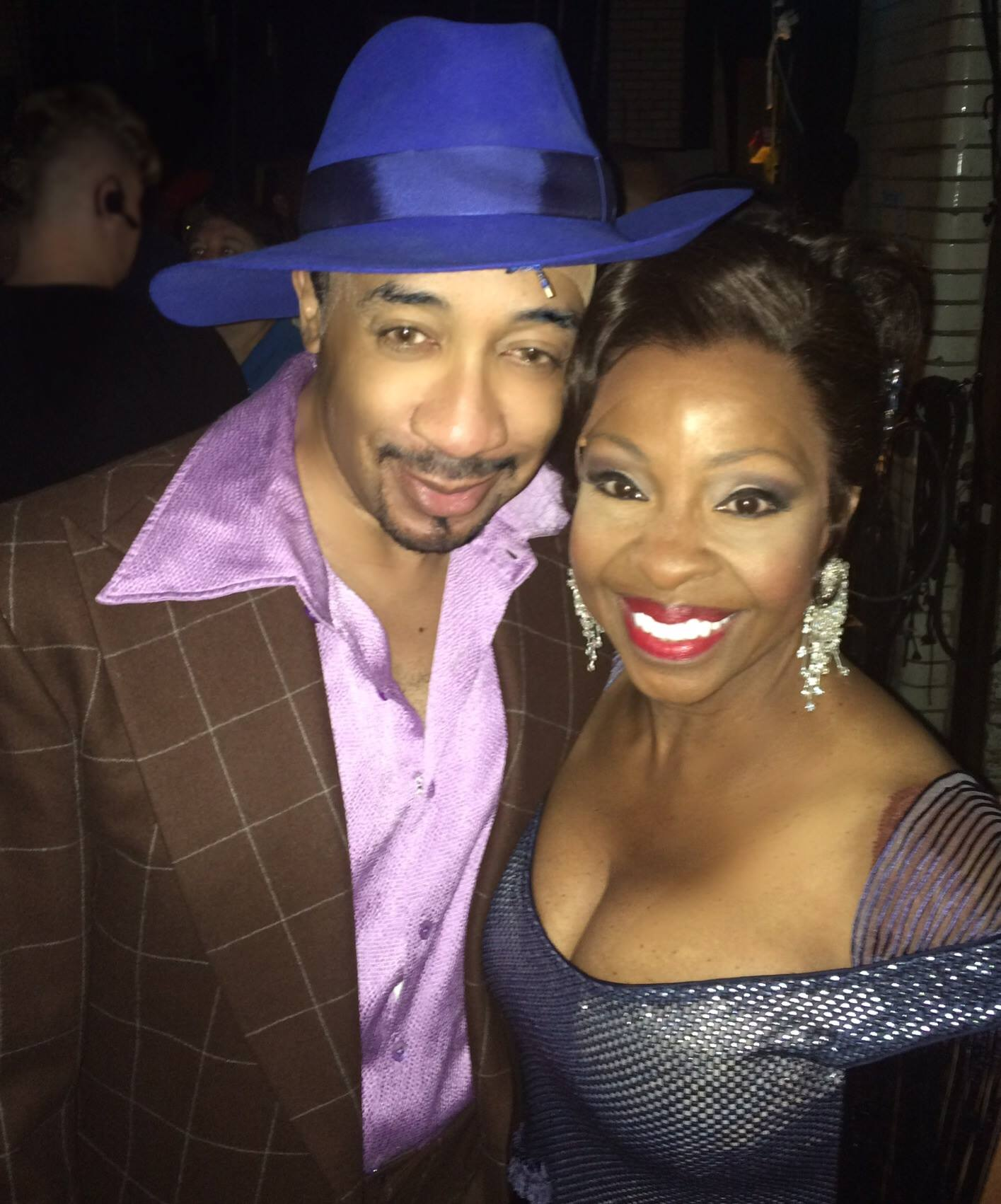 with Gladys Knight