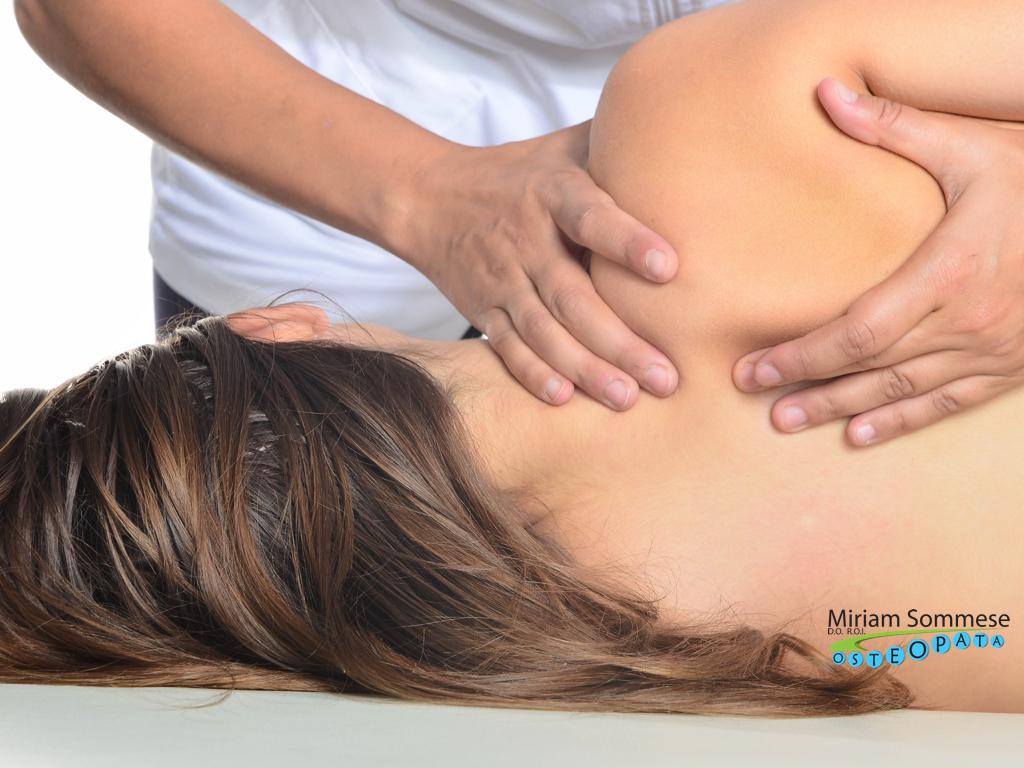 dolore spalla osteopata milano