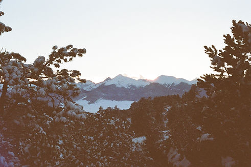 Mountains at Dusk