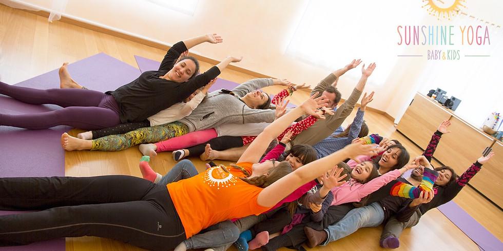 Dia de Yoga em Família