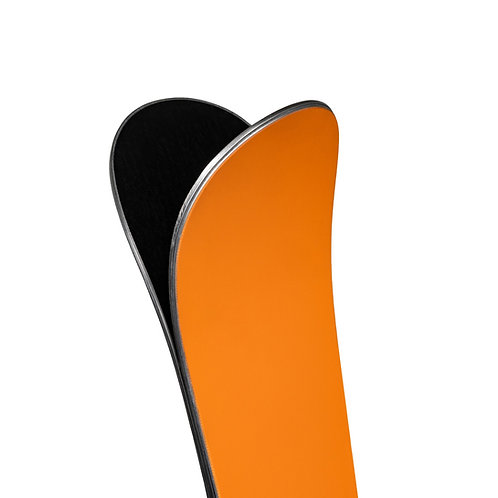 zai Ski DISRUPTOR Orange inkl. zai Bindungssystem