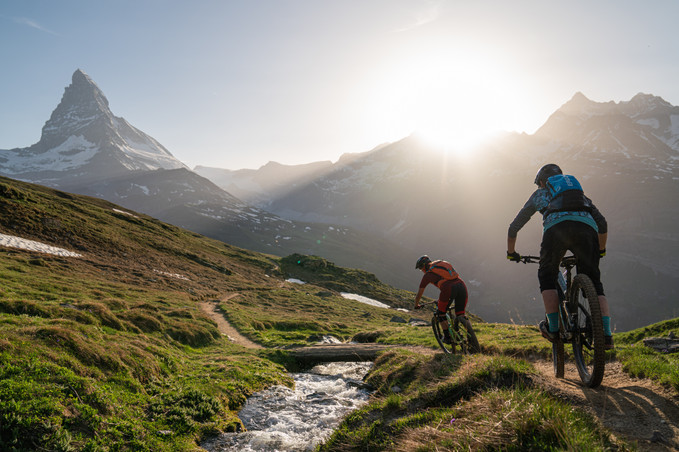 MTB Guiding Zermatt Gornergrat