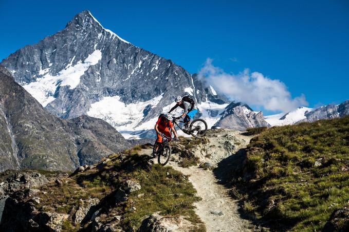MTB Guiding Zermatt Bikeschool 1