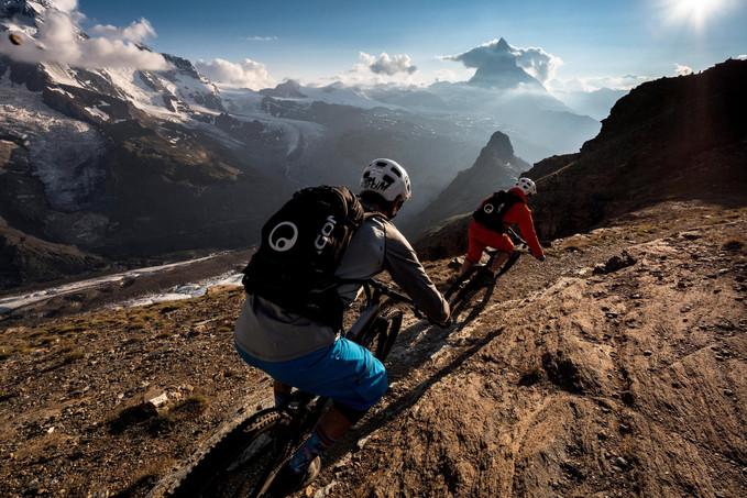 MTB Guiding Zermatt Ride Gornergrat