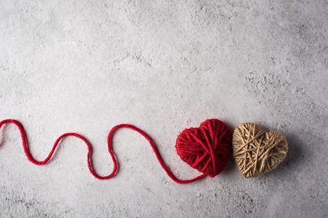 red-yarn-heart-shaped-wall-background_11