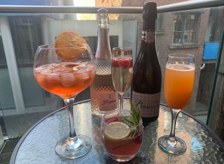 4 Celebration Cocktails: The Prosecco Edition