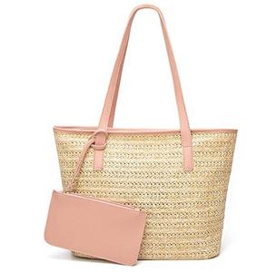 GL-Turelifes Large Straw Bag Beach Handbags High Capacity Summer Shoulder Bags Tassel Totes Top-handle Bag