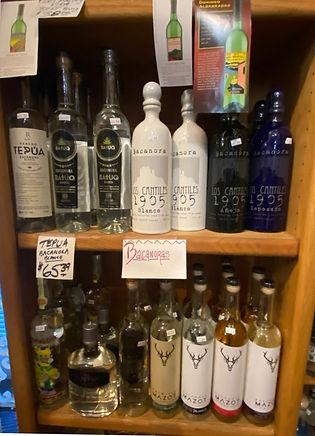 Bacanora at Plaza Liquors