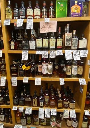Bourbon at Plaza Liquors