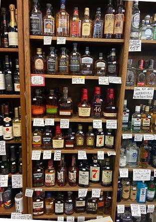 375mL bottles at Plaza Liquors