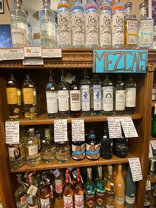 Mezcal at Plaza Liquors