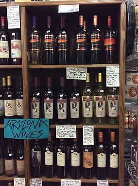 Arizona Wines at Plaza Liquors