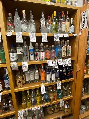 Tito's Vodka at Plaza Liquors