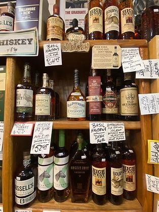 Irish Whiskey at Plaza Liquor