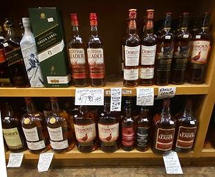 Scotch at Plaza Liquors