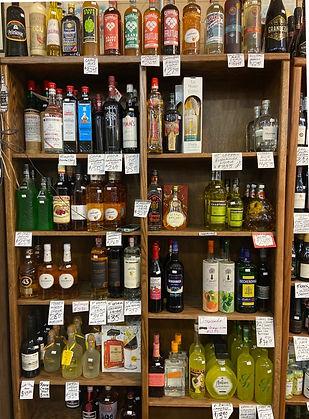 Chartreuse liqueur at Plaza Liquors